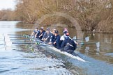 The Boat Race season 2015: OUWBC training Wallingford.  Wallingford,  United Kingdom, on 04 March 2015 at 16:04, image #155