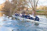 The Boat Race season 2015: OUWBC training Wallingford.  Wallingford,  United Kingdom, on 04 March 2015 at 16:07, image #169