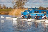 The Boat Race season 2015: OUWBC training Wallingford.  Wallingford,  United Kingdom, on 04 March 2015 at 16:12, image #178