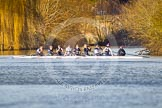 The Boat Race season 2015: OUWBC training Wallingford.  Wallingford,  United Kingdom, on 04 March 2015 at 16:15, image #182