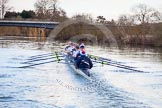 The Boat Race season 2015: OUWBC training Wallingford.  Wallingford,  United Kingdom, on 04 March 2015 at 16:19, image #197