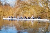 The Boat Race season 2015: OUWBC training Wallingford.  Wallingford,  United Kingdom, on 04 March 2015 at 17:01, image #245