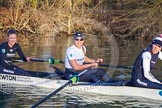 The Boat Race season 2015: OUWBC training Wallingford.  Wallingford,  United Kingdom, on 04 March 2015 at 17:03, image #248