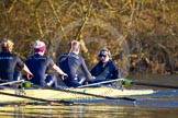 The Boat Race season 2015: OUWBC training Wallingford.  Wallingford,  United Kingdom, on 04 March 2015 at 17:09, image #256