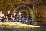 The Boat Race season 2015: OUWBC training Wallingford.  Wallingford,  United Kingdom, on 04 March 2015 at 17:10, image #265