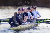The Boat Race season 2015: OUWBC training Wallingford.  Wallingford,  United Kingdom, on 04 March 2015 at 17:18, image #295