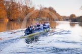 The Boat Race season 2015: OUWBC training Wallingford.  Wallingford,  United Kingdom, on 04 March 2015 at 17:26, image #346