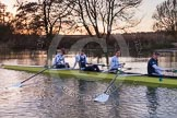 The Boat Race season 2015: OUWBC training Wallingford.  Wallingford,  United Kingdom, on 04 March 2015 at 17:32, image #359