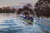The Boat Race season 2015: OUWBC training Wallingford.  Wallingford,  United Kingdom, on 04 March 2015 at 17:39, image #363