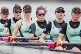 The Cambridge Eight - here Ashton Brown, Caroline Reid, Claire Watkins, Melissa Wilson, Holly Hill, and Hannah Roberts