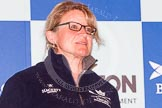 The head coach - for Oxford Christine Wilson