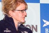 The head coach - for Oxford Christine Wilson