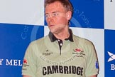 The head coach - for Cambridge Steve Trapmore