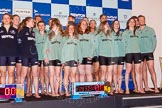 The 2015 Women's Boat Race and Boat Race Cambridge Blue Boat crews together