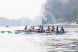 The Boat Race season 2015 - Tideway Week. River Thames between Putney and Mortlake, London,  United Kingdom, on 08 April 2015 at 10:34, image #83
