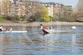 The Boat Race season 2015 - Tideway Week. River Thames between Putney and Mortlake, London,  United Kingdom, on 08 April 2015 at 10:38, image #84