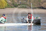 The Boat Race season 2015 - Tideway Week. River Thames between Putney and Mortlake, London,  United Kingdom, on 08 April 2015 at 10:38, image #85
