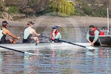 The Boat Race season 2015 - Tideway Week. River Thames between Putney and Mortlake, London,  United Kingdom, on 08 April 2015 at 10:39, image #86
