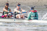 The Boat Race season 2015 - Tideway Week. River Thames between Putney and Mortlake, London,  United Kingdom, on 08 April 2015 at 10:39, image #88