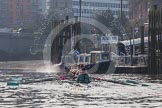 The Boat Race season 2015 - Tideway Week. River Thames between Putney and Mortlake, London,  United Kingdom, on 08 April 2015 at 10:46, image #104