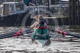 The Boat Race season 2015 - Tideway Week. River Thames between Putney and Mortlake, London,  United Kingdom, on 08 April 2015 at 10:46, image #105