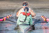 The Boat Race season 2015 - Tideway Week. River Thames between Putney and Mortlake, London,  United Kingdom, on 08 April 2015 at 10:47, image #107