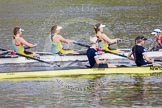 The Boat Race season 2015 - Newton Women's Boat Race. River Thames between Putney and Mortlake, London,  United Kingdom, on 10 April 2015 at 16:02, image #107