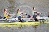 The Boat Race season 2015 - Newton Women's Boat Race. River Thames between Putney and Mortlake, London,  United Kingdom, on 10 April 2015 at 16:02, image #108