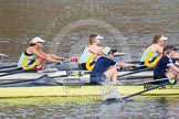 The Boat Race season 2015 - Newton Women's Boat Race. River Thames between Putney and Mortlake, London,  United Kingdom, on 10 April 2015 at 16:02, image #109
