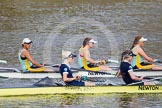 The Boat Race season 2015 - Newton Women's Boat Race. River Thames between Putney and Mortlake, London,  United Kingdom, on 10 April 2015 at 16:02, image #110