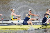 The Boat Race season 2015 - Newton Women's Boat Race. River Thames between Putney and Mortlake, London,  United Kingdom, on 10 April 2015 at 16:02, image #112