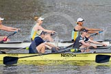 The Boat Race season 2015 - Newton Women's Boat Race. River Thames between Putney and Mortlake, London,  United Kingdom, on 10 April 2015 at 16:02, image #113