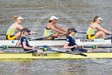The Boat Race season 2015 - Newton Women's Boat Race. River Thames between Putney and Mortlake, London,  United Kingdom, on 10 April 2015 at 16:02, image #114