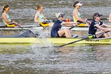 The Boat Race season 2015 - Newton Women's Boat Race. River Thames between Putney and Mortlake, London,  United Kingdom, on 10 April 2015 at 16:02, image #117