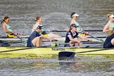 The Boat Race season 2015 - Newton Women's Boat Race. River Thames between Putney and Mortlake, London,  United Kingdom, on 10 April 2015 at 16:02, image #118