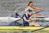 The Boat Race season 2015 - Newton Women's Boat Race. River Thames between Putney and Mortlake, London,  United Kingdom, on 10 April 2015 at 16:03, image #120