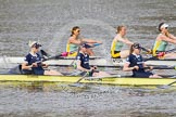 The Boat Race season 2015 - Newton Women's Boat Race. River Thames between Putney and Mortlake, London,  United Kingdom, on 10 April 2015 at 16:03, image #121