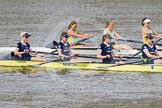 The Boat Race season 2015 - Newton Women's Boat Race. River Thames between Putney and Mortlake, London,  United Kingdom, on 10 April 2015 at 16:03, image #122