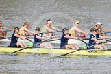 The Boat Race season 2015 - Newton Women's Boat Race. River Thames between Putney and Mortlake, London,  United Kingdom, on 10 April 2015 at 16:03, image #123