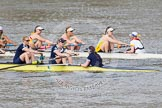 The Boat Race season 2015 - Newton Women's Boat Race. River Thames between Putney and Mortlake, London,  United Kingdom, on 10 April 2015 at 16:03, image #125