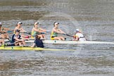 The Boat Race season 2015 - Newton Women's Boat Race. River Thames between Putney and Mortlake, London,  United Kingdom, on 10 April 2015 at 16:03, image #127