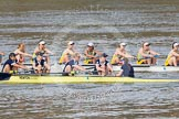 The Boat Race season 2015 - Newton Women's Boat Race. River Thames between Putney and Mortlake, London,  United Kingdom, on 10 April 2015 at 16:03, image #128