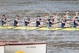 The Boat Race season 2015 - Newton Women's Boat Race. River Thames between Putney and Mortlake, London,  United Kingdom, on 10 April 2015 at 16:03, image #130