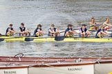 The Boat Race season 2015 - Newton Women's Boat Race. River Thames between Putney and Mortlake, London,  United Kingdom, on 10 April 2015 at 16:03, image #131