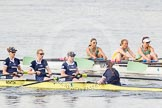The Boat Race season 2015 - Newton Women's Boat Race. River Thames between Putney and Mortlake, London,  United Kingdom, on 10 April 2015 at 16:03, image #133