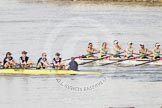 The Boat Race season 2015 - Newton Women's Boat Race. River Thames between Putney and Mortlake, London,  United Kingdom, on 10 April 2015 at 16:03, image #134