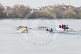 The Boat Race season 2015 - Newton Women's Boat Race. River Thames between Putney and Mortlake, London,  United Kingdom, on 10 April 2015 at 16:03, image #137