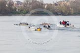 The Boat Race season 2015 - Newton Women's Boat Race. River Thames between Putney and Mortlake, London,  United Kingdom, on 10 April 2015 at 16:03, image #138