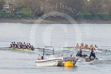 The Boat Race season 2015 - Newton Women's Boat Race. River Thames between Putney and Mortlake, London,  United Kingdom, on 10 April 2015 at 16:03, image #139