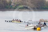 The Boat Race season 2015 - Newton Women's Boat Race. River Thames between Putney and Mortlake, London,  United Kingdom, on 10 April 2015 at 16:03, image #140
